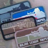 Mil-Spec Monkey Velcro Morale Patch Major League Sniper